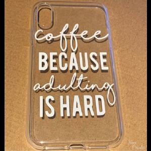 Hoesje XR coffee